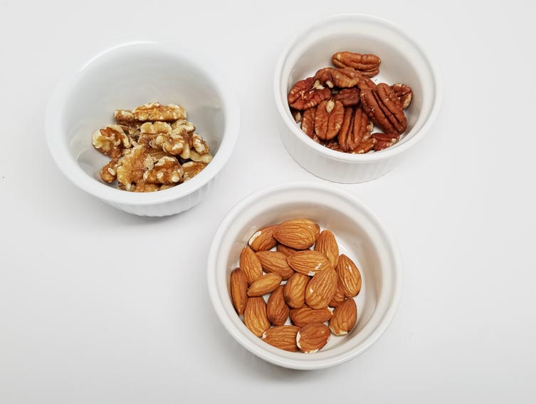 Nuts for fitness